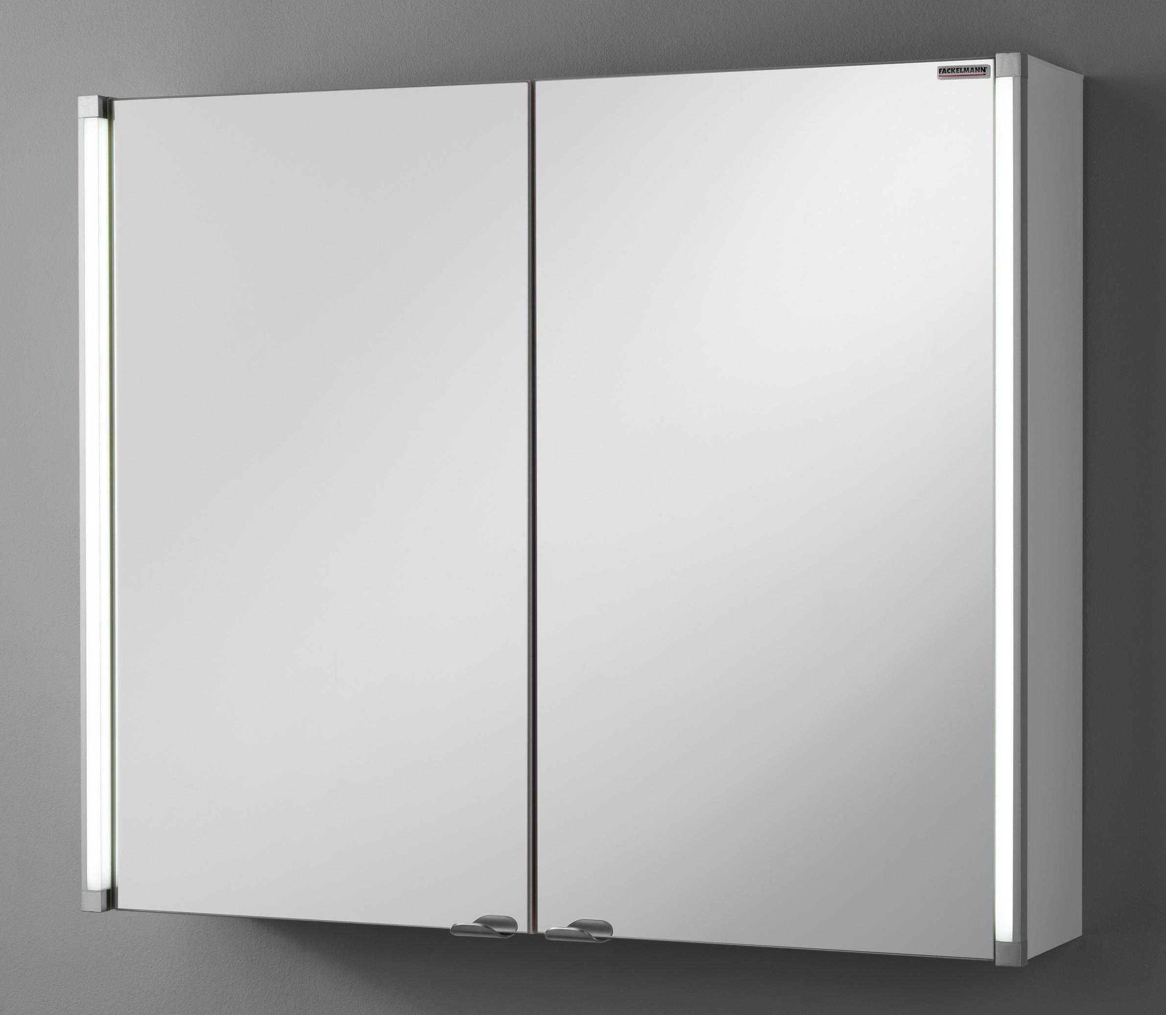 Schulz badprofi fackelmann spiegelschrank led line 80 for Spiegelschrank 110 cm breit