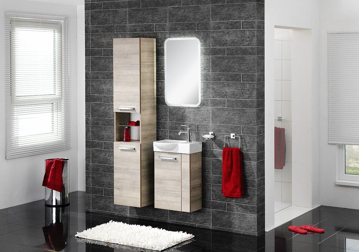 schulz badprofi fackelmann a vero g ste wc unterschrank eiche eiche. Black Bedroom Furniture Sets. Home Design Ideas